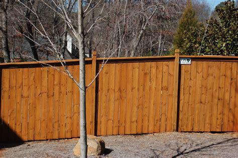 fence staining atlanta wood restoration company the wood restoration company