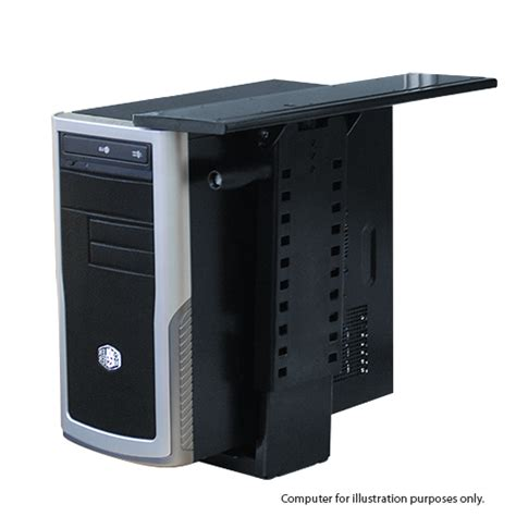 computer tower cpu holder black for sale australia wide buy direct