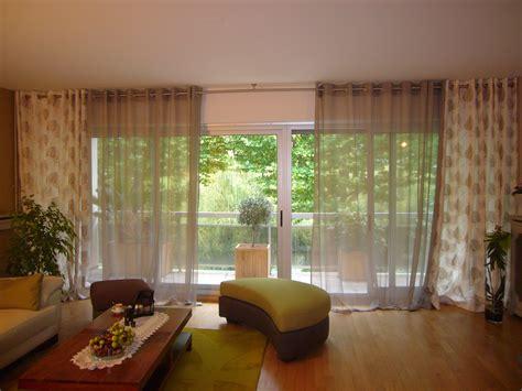 modele de rideau pour baie vitree