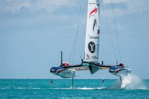 Catamaran In Bermuda by America S Cup Bermuda 2017 Final Practice Race Period