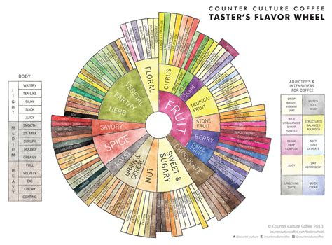 The New Taster?s Flavor Wheel: A Recalibration of Coffee Dialogue   Daily Coffee News by Roast
