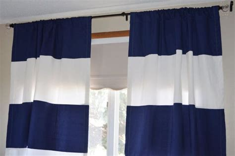 Navy Striped Curtain Panels by Navy Blue Striped Curtains Furniture Ideas Deltaangelgroup