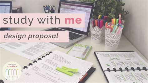 Study With Me  Design Strategy Proposal Assessment Youtube