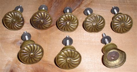 lot 8 vintage spool cabinet drawer pulls knobs thingery previews postviews thoughts