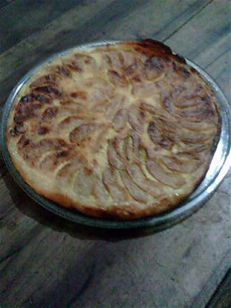 recette de tarte aux pomme et cr 232 me fraiche