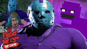 PLAYING AS PURPLE GUY JASON!    Friday The 13th The Game ...