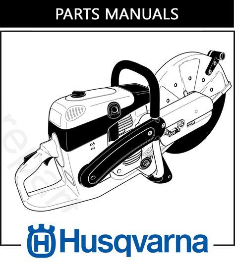 parts manual husqvarna k960 free dhs equipment