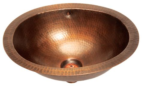 foret model bfc11 wc small oval lavatory undermount copper sink bathroom sinks new
