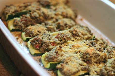 Mushroom Stuffed Zucchini Boats by Mushroom Pesto Stuffed Zucchini Boats Dishin Dishes