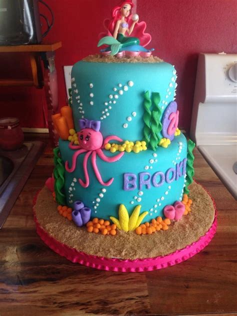 ariel birthday cake 25 best ideas about mermaid birthday cake on