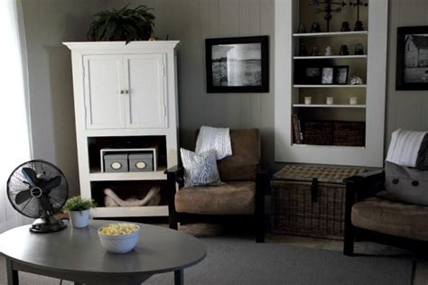 Grey Living Room Before and After: Complete ish Paint Color and Source List   The Creek Line House