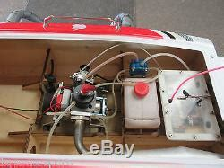 Nitro Boats Remote Control by Pro Boat Blackjack 55 Nitro Zenoah G26 Remote Control Gas