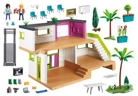 maison moderne 5574 playmobil 174