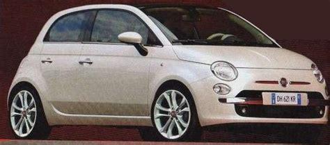 fiat punto sa successeure sera la 500 cinqueporte automobile
