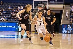Chase, Devashrayee lead BYU women's basketball to 67-55 ...