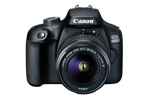 """Canon EOS 4000D camera """"the cheapest DSLR ever launched"""