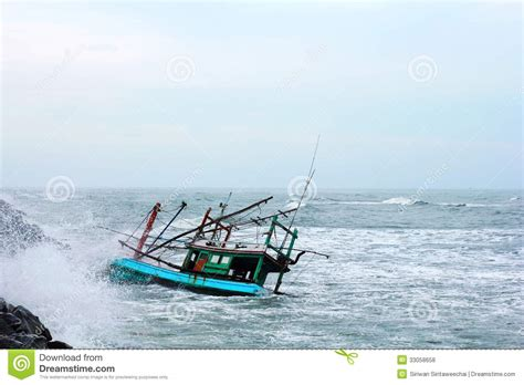 Dream Of Your Boat Sinking by Old Sinking Boat Royalty Free Stock Image Cartoondealer