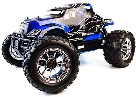 hsp bug crusher truck thermique rc 1 10 4 roues motrices modelisme rc