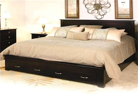 King Size Bed Frame With Storage Fabulous Lovely Bedroom