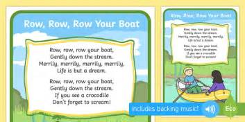 Row Row Row Your Boat Chinese Lyrics by Row Row Your Boat Song Rhymes Display Nursery Rhyme
