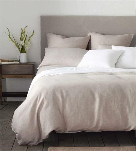 Relaxed Denim Natural Linen Bedding  Secret Linen Store