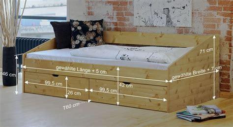 Schönes Einzelbett Aus Buche In 90x200 Cm  Bett Dänemark