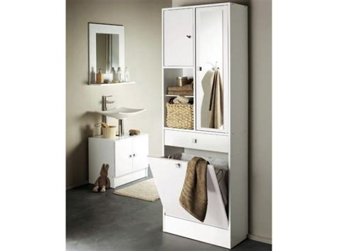 meuble salle de bain avec panier a linge dootdadoo id 233 es de conception sont int 233 ressants