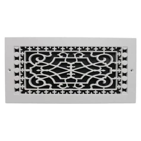 smi ventilation products base board 6 in x 14 in polymer resin decorative cold air
