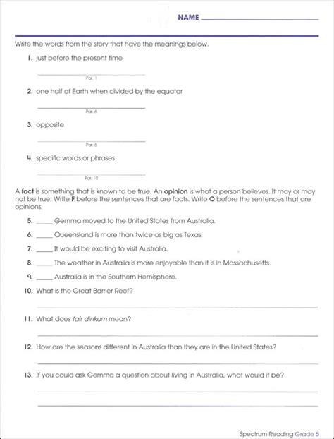 Spectrum Reading 2015 Grade 5 (001737) Details  Rainbow Resource Center, Inc