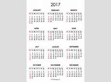 New York Web Design Studio, New York, NY 2017 Calendar