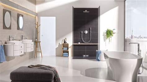 salle de bain design am 233 nagement et 233 quipements sanitaires c 244 t 233 maison