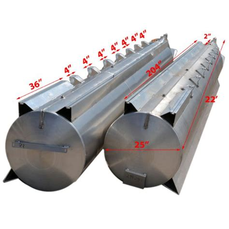 Pontoon Boat Logs Tubes by Custom 22 Ft X 25 In Pontoon Boat Floats Logs Tubes W