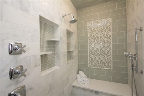 Clear Glass Bathroom Tiles Pictures