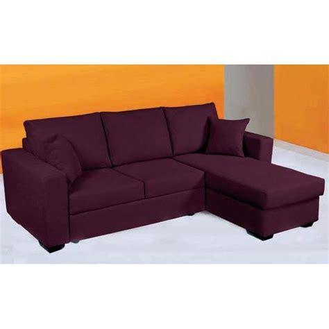 canap 233 d angle convertible en lit tissu achat vente canap 233 sofa divan cdiscount