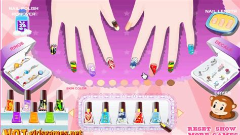 Nail Salon New Manicure Try Nail Polish Game