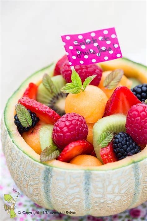 salade de fruits frais l univers de sylvie l univers de sylvie
