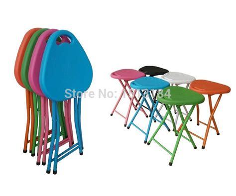 pas cher en plastique tabouret pliant pour adultes en plastique pliable chaise pour salon
