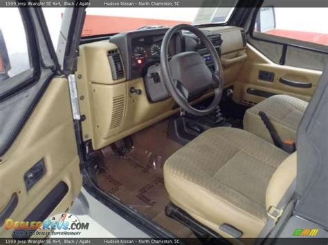 1999 jeep wrangler interior agate interior 1999 jeep wrangler se 4x4 photo 13