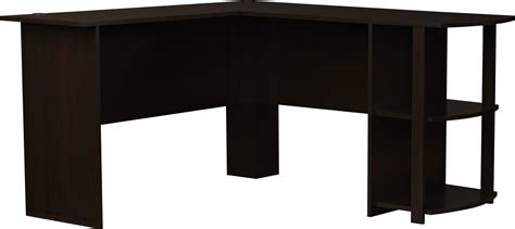 Ameriwood Computer Desk With Shelves Brown by Ameriwood Office L Shaped Desk With 2 Shelves 9354303pcom