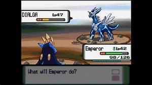 Pokemon Diamond Legendary Battles Episode 1: Dialga - YouTube