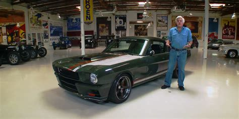 Leno's Garage 1965 Ford Mustang Espionage  Ford Authority