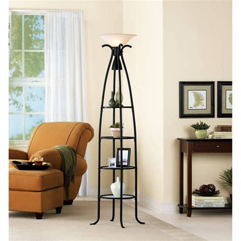 mainstays etagere floor l lighting and ceiling fans