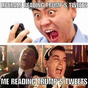 Reading Trump's Tweets: Leftists vs. Me | TheDonald