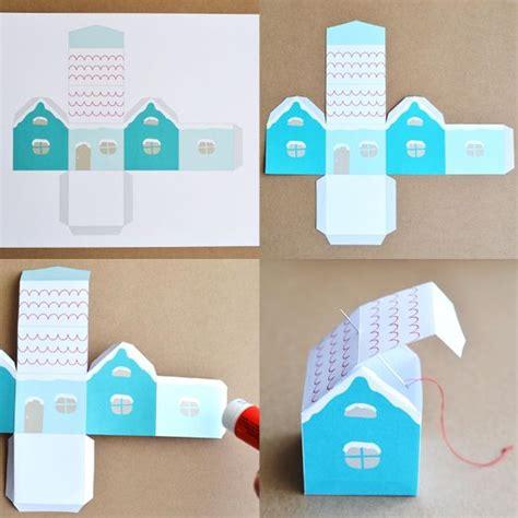 d 233 coration de no 235 l maison enneig 233 e 224 imprimer gratuite pluie de confettis brico