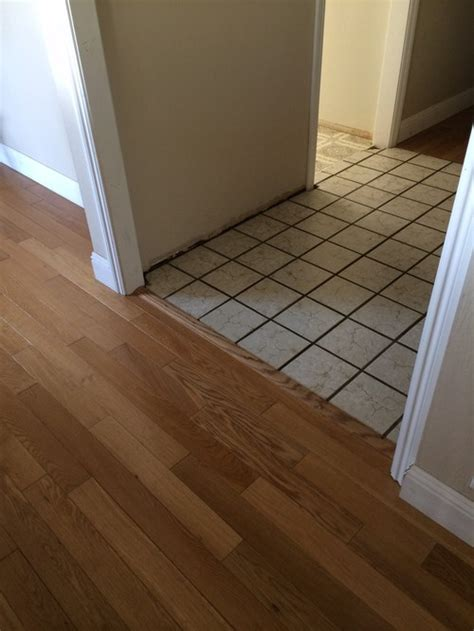 tile or hardwood for entry and kitchen