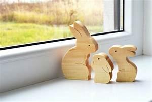 Fensterdeko Aus Holz : 1001 ideen f r osterdeko aus holz im haus oder garten ~ Markanthonyermac.com Haus und Dekorationen