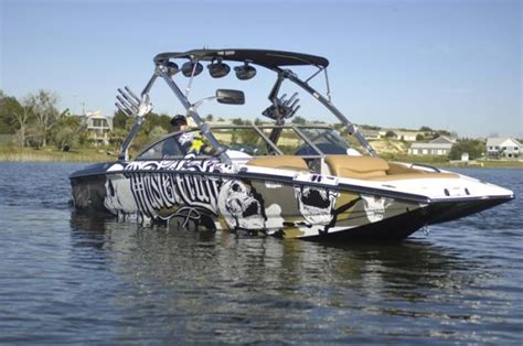 Wake Boat With Cabin by The Awesome Boats Thread Page 2 Boats Pinterest
