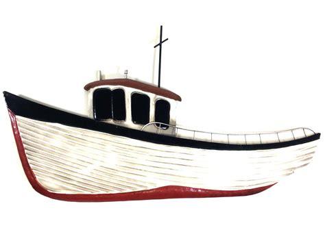 Fishing Boat Art metal wall art fishing boat
