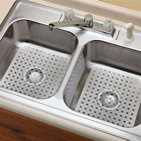 kitchen sink rubber mat 3 pc sink protector