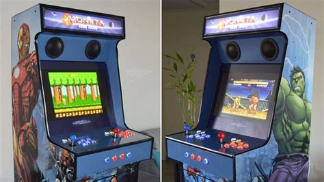 diy arcade cabinet made with raspberry pi htxt africa
